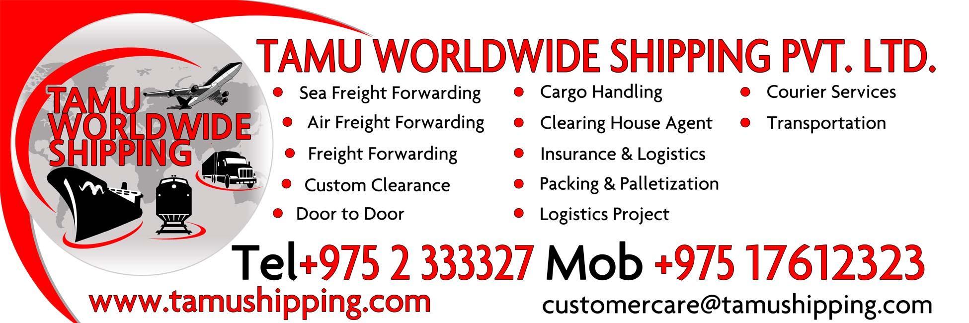 Tamu Worldwide Shipping Pvt. Ltd. Thimphu Bhutan